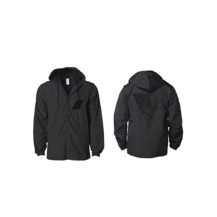 United Hooper Jacket Black Medium